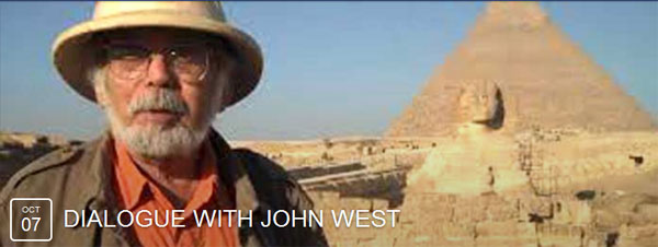 Facebook event Dialogue with John Anthony West